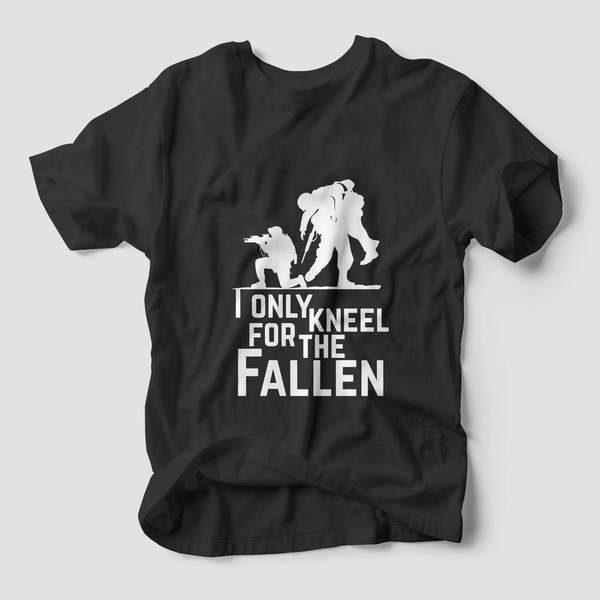 I Only Kneel for the Fallen Tee 2