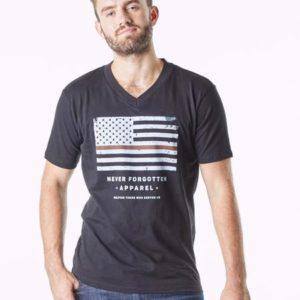 Patriotic American Flag Tee 03